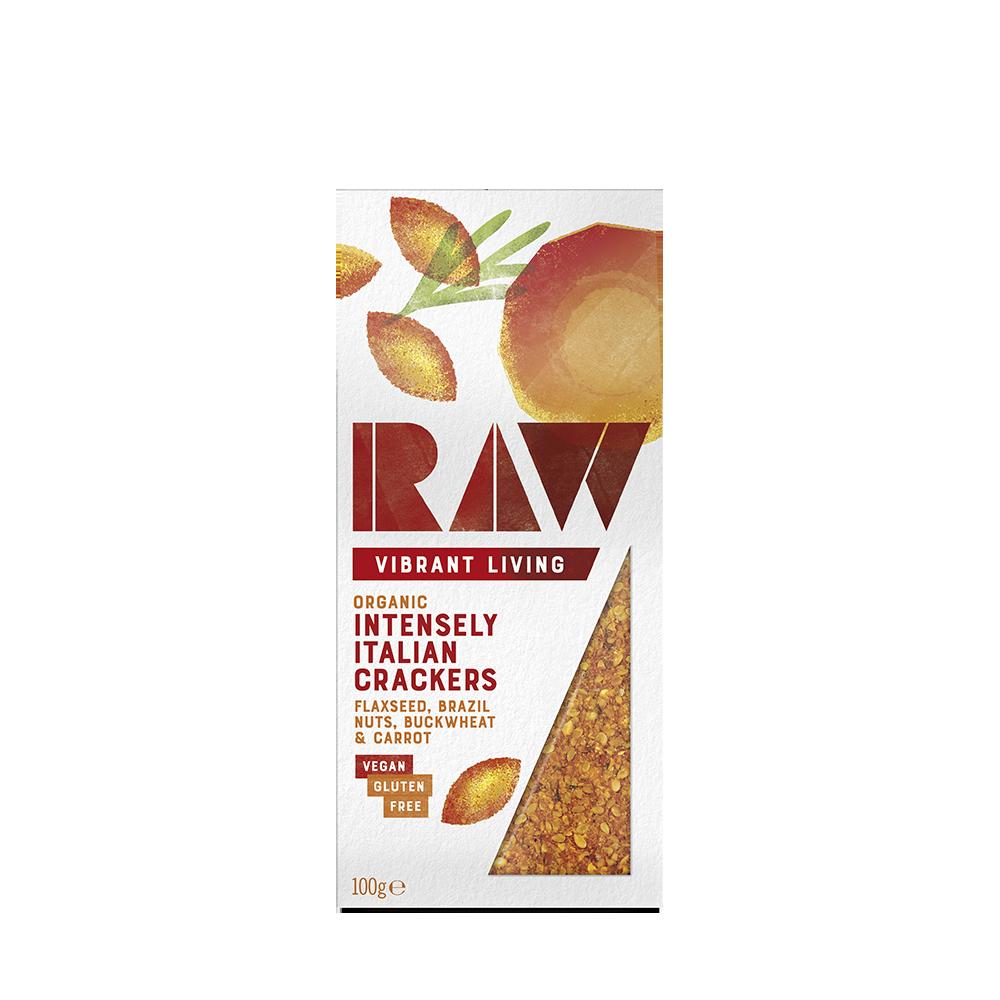 Raw Intensely Italian Crispbread image