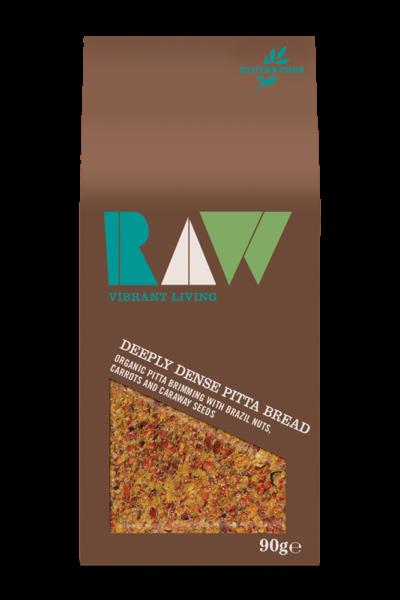 Raw Deeply Dense Pitta Bread image