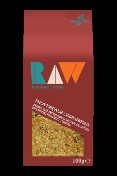 Raw Provencale Crispbread image