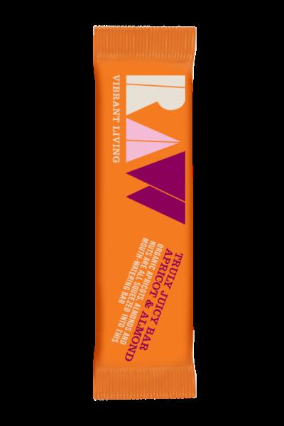 Raw Organic Truly Juicy Apricot & Almond Bar image