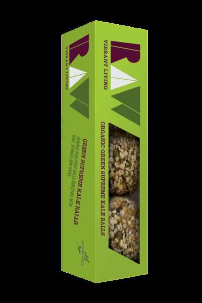 Raw Organic Green Supreme Kale Balls image