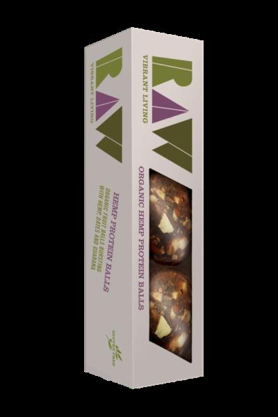Raw Organic Hemp Protein Balls image
