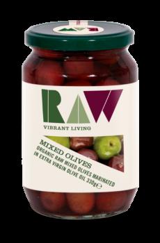 Raw Organic Mixed Olives image