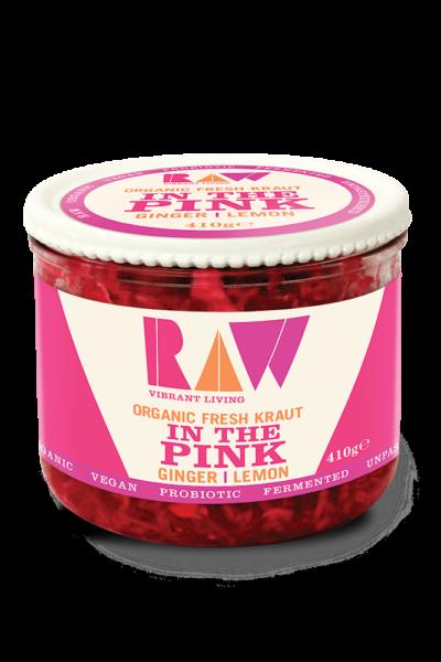 Raw Fresh Sauerkraut – In The Pink image