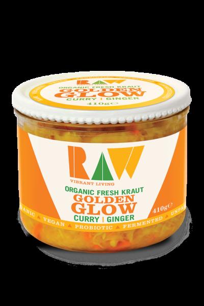 Raw Fresh Sauerkraut – Golden Glow image