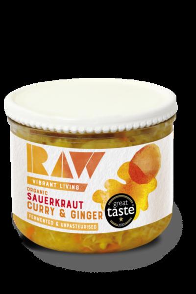 Raw Fresh Sauerkraut – Curry & Ginger image
