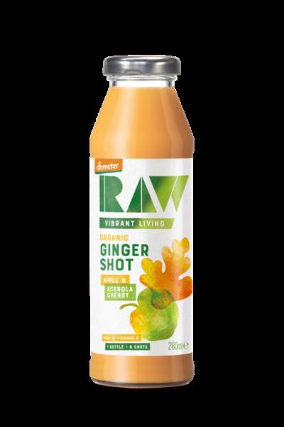 Organic Ginger Shot – Apple & Acerola Cherry image