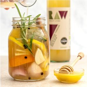 Gut-healthy Apple Cider Vinegar Tonic