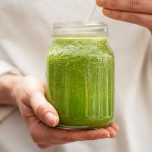 Raw vibrant living smoothie