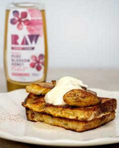 raw organic french toast